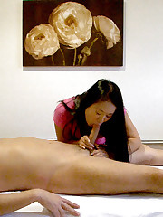 Big tits hot ass asian rides a  huge dong in these hidden camera asian massage fuck pics