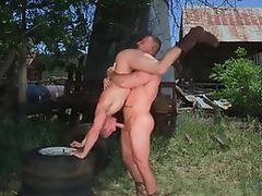 RagingStallion Outdoor Intense Orgasm