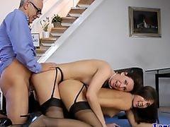 British stockings milf creampied in ffm