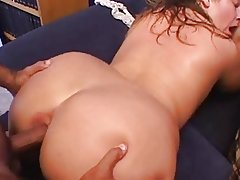 BBW Mature Gets HAIRY Pussy & Ass Fucked!