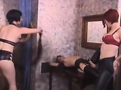 Sexbot - red-head spanked and tangled up - badjojocom