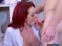 Doctor Skyla Novea Gets Pussy Rammed By Patient