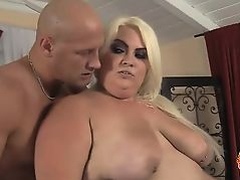 Cheryl Lee is a big, fat and horny blonde BBW with an