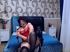 sexy mature dance undress and masturbate