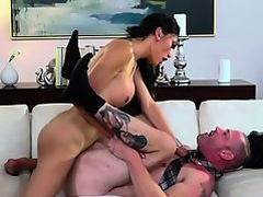 Tgirl Venus Lux sucks and fucks stud Arclyte