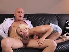 Old man anal hd Horny platinum-blonde wants to attempt