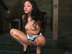 hispanic babe meets her punisher