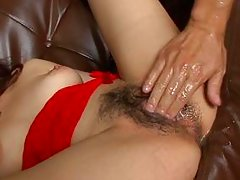 hairy pussy fingered hard