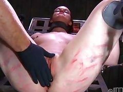 slave chick tortured with speculum