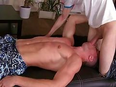 big thick cock stretches his ass