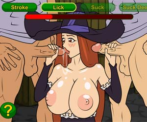 Witch Gang Group sex