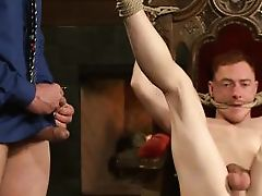 sex lord plays with his sex slave